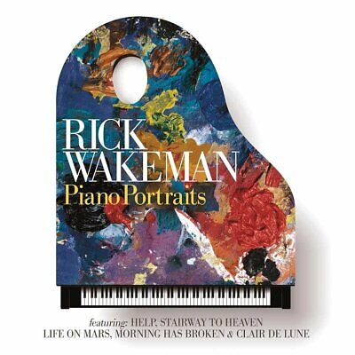 Rick Wakeman - Piano Portraits - Cd - New