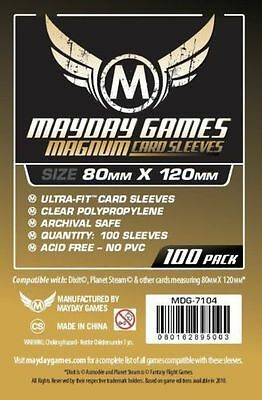 100 Bustine Protettive Sleeves Mayday Games 80x120 mm Buste Giochi Tavolo Dixit