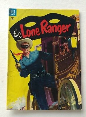 The Lone Ranger #82 10 cent Cover Dell Publishing Co. 1955