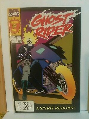 GHOST RIDER #1 First Printing - 1990 - Ready for CGC! - high grade 9.6 OR BETTER