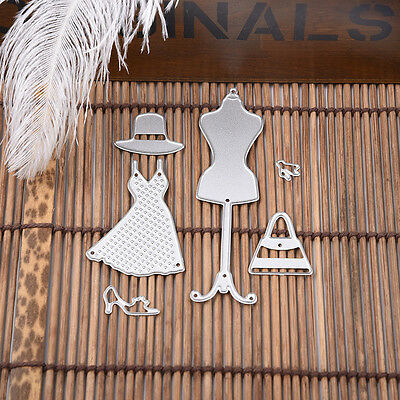 Colth Hat Shape Metal Cutting Dies Stencil For Scrapbooking Paper Cards Decor.