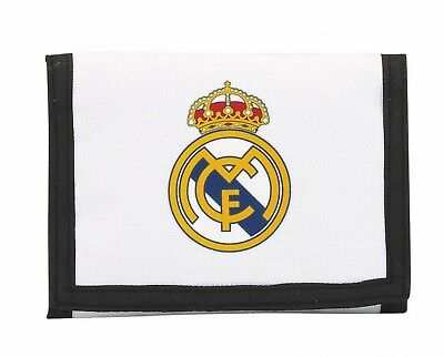 Real Madrid C.F. 1st White Kit Mens Official Wallet Coin Purse OFFICIAL