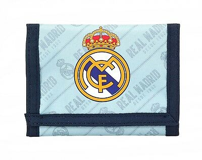 Real Madrid C.F. Corporate 2nd Kit Mens Official Wallet Coin Purse OFFICIAL