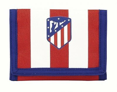 Atletico de Madrid Kids 1st Kit Mens Red Official Wallet Coin Purse OFFICIAL