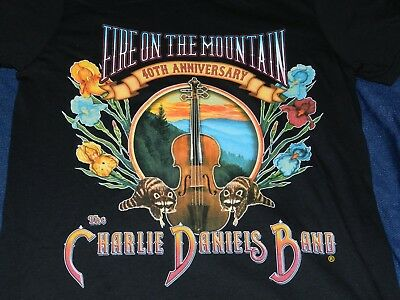 NICE Charlie Daniels Band 40th Anniversary Concert T Shirt ( S women's?)