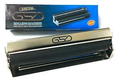 King Size GSD Cigarette ROLLING MACHINE HIGH QUALITY METAL Rolling Machine 110mm