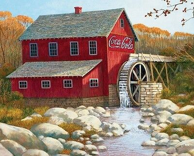 Coke Cola Sign Old Red Grist Mill