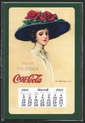 Coca-Cola March 1911 Coke Calendar