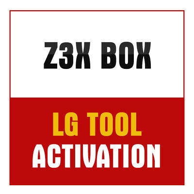 Z3X BOX LG Tool Activation Support 2G Zte Huawei Alcatel Fly