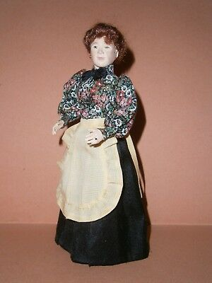 Rare collectors Marie France Beglan doll lady doll's house doll minitaure 1/12th