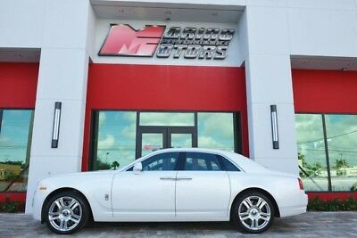 2016 Rolls-Royce Other Base Sedan 4-Door 2016 GHOST - $376K NEW - RARE PEARL WHITE - ONLY 1,800 MILES - FLORIDA CAR
