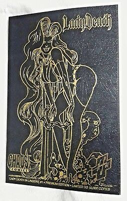 GGA Spicy Lady Death In Lingerie Leather Variant Edition Near Mint To Mint NM/M