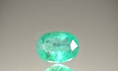 19thC Antique 1ct+ Siberia Emerald Roman Germania Gem (Salzburg) Lucullus Nero