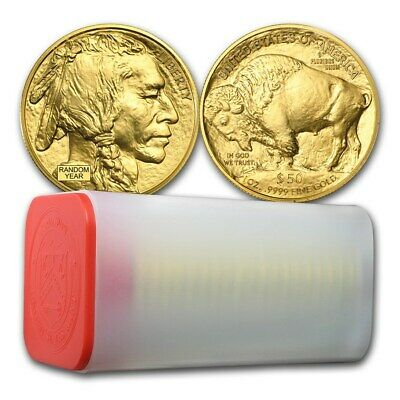 SPECIAL PRICE! BANK WIRE PAYMENT! 1 oz Gold Buffalo BU (Random Year) Lot of 20