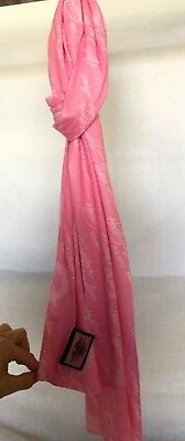 Harley-Davidson® Womens Pink Label All Over Print Pink Scarf