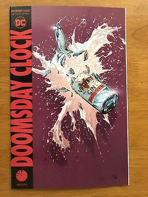 DOOMSDAY CLOCK 3 Main Cover Geoff Johns Gary Frank Watchmen DC Comics 2018 NM+