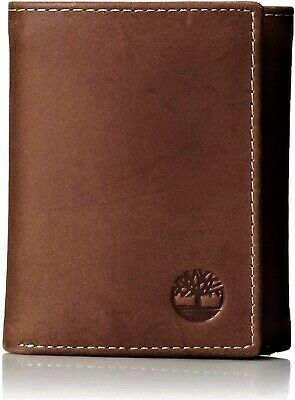 Timberland Men's Hunter Trifold Leather Wallet