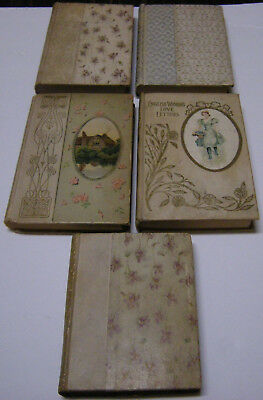 RARE ANTIQUE BOOK LOT, Circa 1800's, Early 1900's; Sir Walter Scott, Yonge, etc