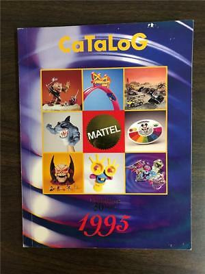 Mattel 1995 Toy Catalog Hot Wheels Disney Pooh Nickelodeon 168 Pages