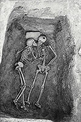 Antique 2800 Year Old Kiss Photo Bizarre Odd Freaky Strange