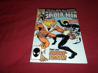 The Spectacular Spider-Man #116 (Jul 1986, Marvel) copper age 9.2/nm- comic!!!