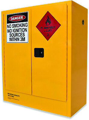 160L Flammable Liquids Cabinet. Australian made to meet Australian Standards