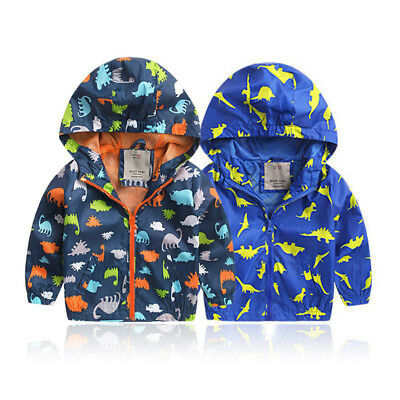 Toddler Kids Baby Boys Trench Coat Winter Jacket Windbreaker Outerwear Clothes