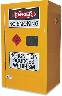 60L Flammable Liquids Cabinet. Australian made to meet Australian Standards
