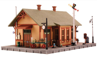Woodland Scenics #5207 - Woodland Station - N Scale Kit