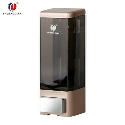 500 ml Dispensador de Jabón Champú Gel en Pared Ducha Baño Cocina Soap Dispenser