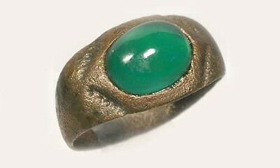AD300 Roman Bithynia Bosphorus (Turkey) Ring Size 6½ Antique 19thC 2ct Agate Gem