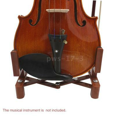 Universal Stand Holder for Full Size 4/4 3/4 1/2 1/4 Violin Part Accessory W3Q7