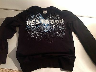 MILKYWAY JUMPER Rare BLACK thick COTTON $600 ORB Vivienne Westwood M Like New