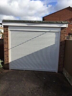 Garage Door 7ft X7ft Electric Roller Insulated Special Offer Only