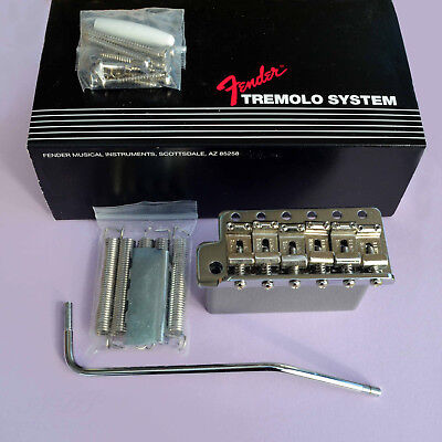 Fender Vintage Stratocaster Tremolo GAUCHER Lefty Chrome Genuine 099.2049.000