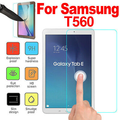 For Samsung Galaxy Tab E 9.6inch T560 HD Tempered Glass Screen Protector Film O1