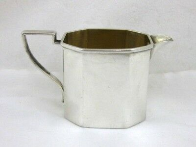 Antique Solid Silver  SMALL CREAM JUG  Hallmarked  BIRMINGHAM 1898