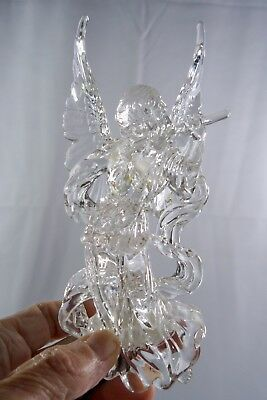 Acrylic Angel Light-Up Christmas Tree Ornament