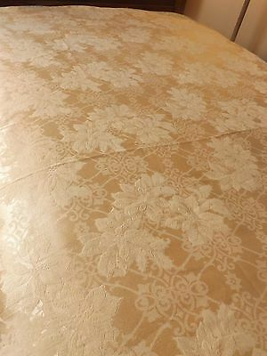 Vintage look Tablecloth SHABBY Cottage French Country Garden chic floral damask