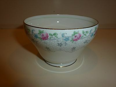 Grafton China England Alison Pattern Large Open Sugar Bowl