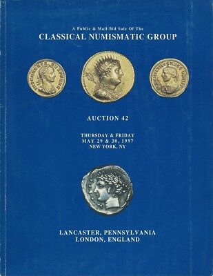 Cng Classical Numismatic Group Catalog Auction 42 Mail Bid Sale May 29 & 30 1997
