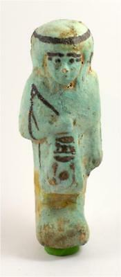 Egypt TIP 22th Dynasty blue faience overseer shabti of Pa-Di-Khonsu