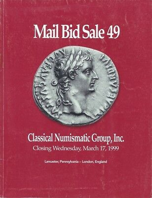 Cng Classical Numismatic Group Catalog Auction 49 A Mail Bid Sale March 17, 1999