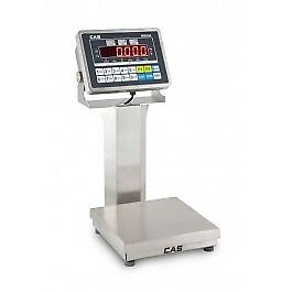 CAS GP-15200SC Enduro General Purpose Bench Scale Checkweigher, 200lb x 0.05lb