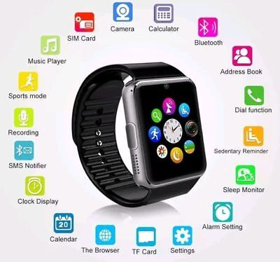2018 Q18 GT08 DZ09 Bluetooth Smart Watch For Android iphone  GSM GPRS SIM