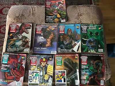 2000AD Prog 800 to 809 except 804