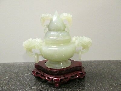 Antique Chinese Jade WITH STAND