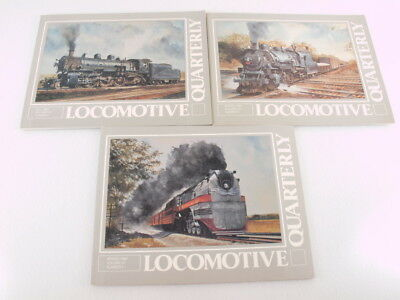 Train Books: Locomotive Quarterly Lot of 3 1984 Fall/Winter/Spring 1-3 Paperback