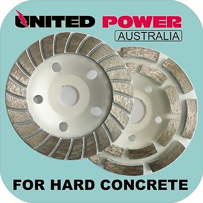 125mm DIAMOND GRINDING CUP HARD CONCRETE (CHOOSE ANY 2 CUPS FROM PICTURE)