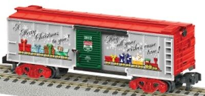American Flyer 6-48825 S Scale American Flyer 2012 Christmas Boxcar NEW IN BOX